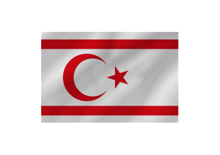 Turkish Republic of Northern Cyprus Flag image